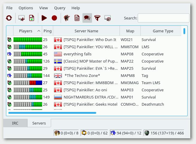 Doomseeker - Cross platform Doom server browser